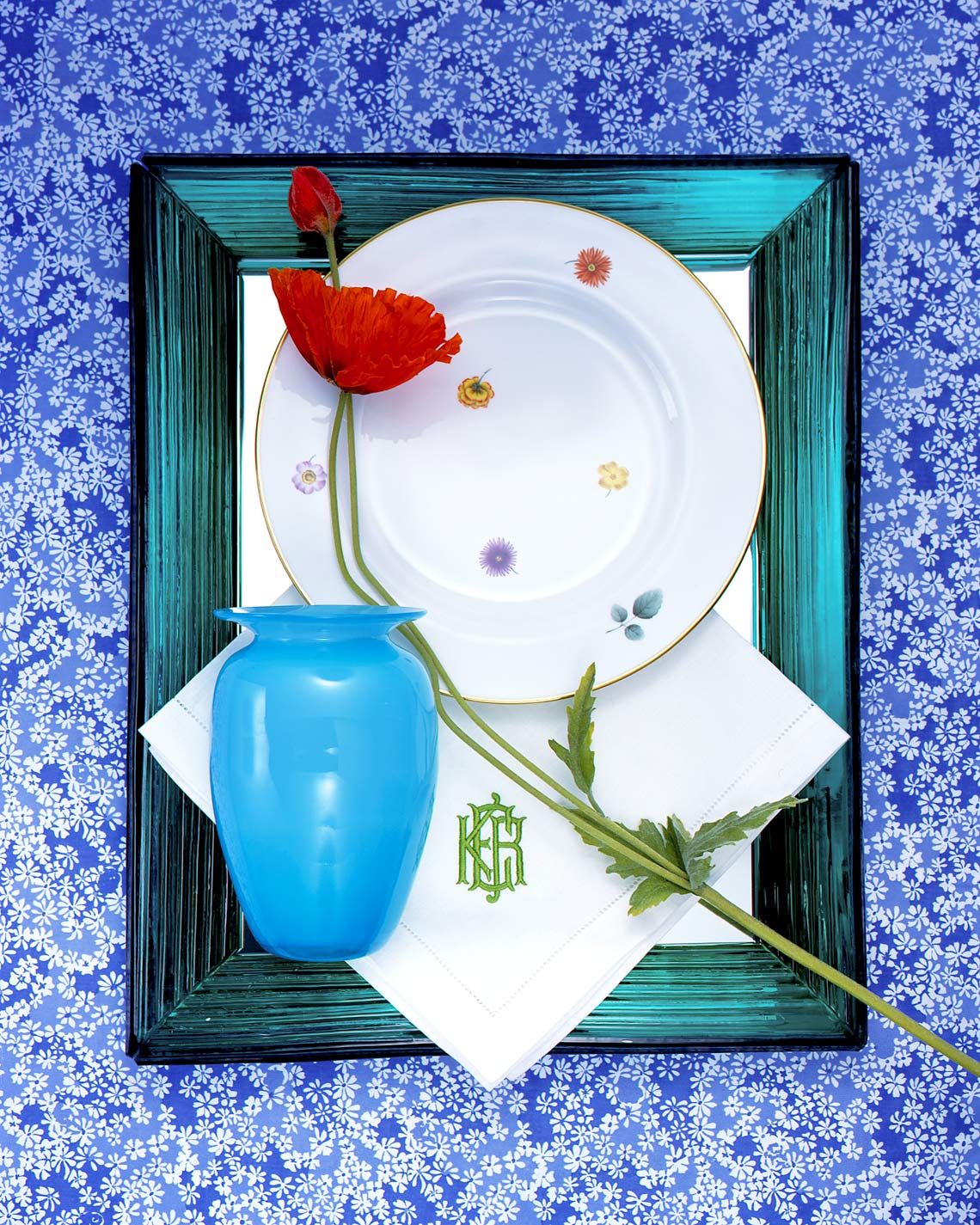 Glass-tray-Blue-Flowers